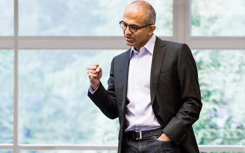 Microsoft CEO Satya Nadella Gets $84 Million Pay Package