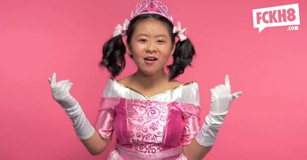 Watch little girls swear for feminism: FCKH8 ad girls