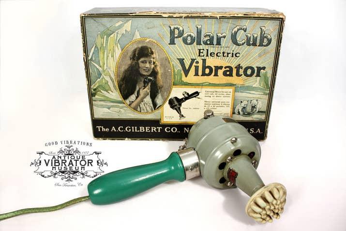 Gammal vibrator för att bota kvinnlig hysteri