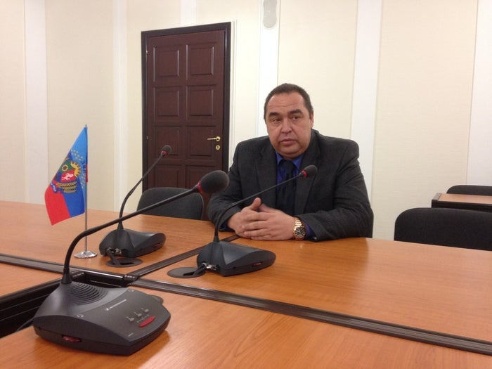 """Igor Plotnitsky, the leader of the Luhansk People's Republic, says that Russia will inevitably annex rebel-held territory in eastern Ukraine. """"Parents always acknowledge their children."""""""