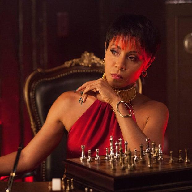 Jada Pinkett Smith as Fish Mooney on Gotham.