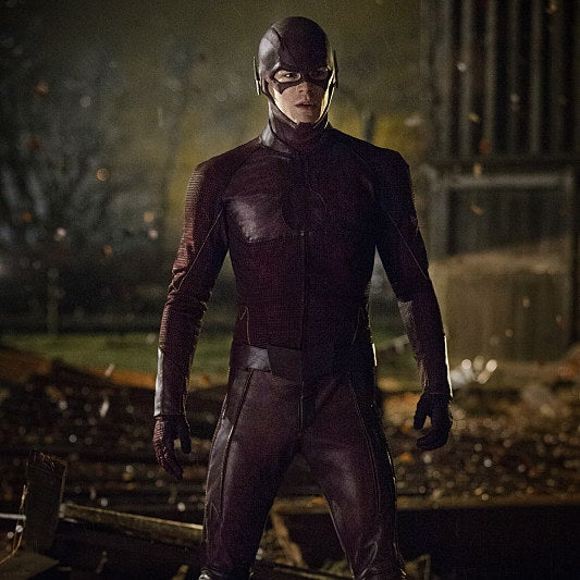 Grant Gustin, star of The CW's The Flash.