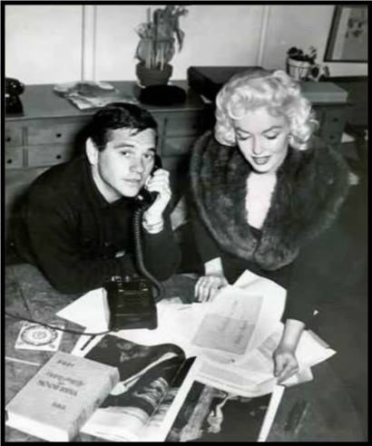 In the 1950's, actors didn't get to choose their film roles, they had to make whatever movies the studios assigned. Marilyn was frustrated with constantly having to play the dumb blonde and when studio execs refused to give her opportunities to play more serious roles, she walked out on her contract and went into hiding. She reemerged in January 1955 with photographer and business partner Milton Greene and announced the formation of Marilyn Monroe Productions. She was only the third woman to start a production company.