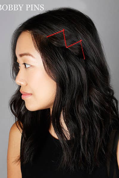 21 Bobby Pin Hairstyles You Can Do In Minutes