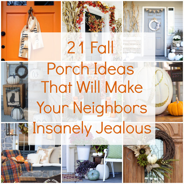 21 Fall Porch Ideas That Will Make Your Neighbors Insanely