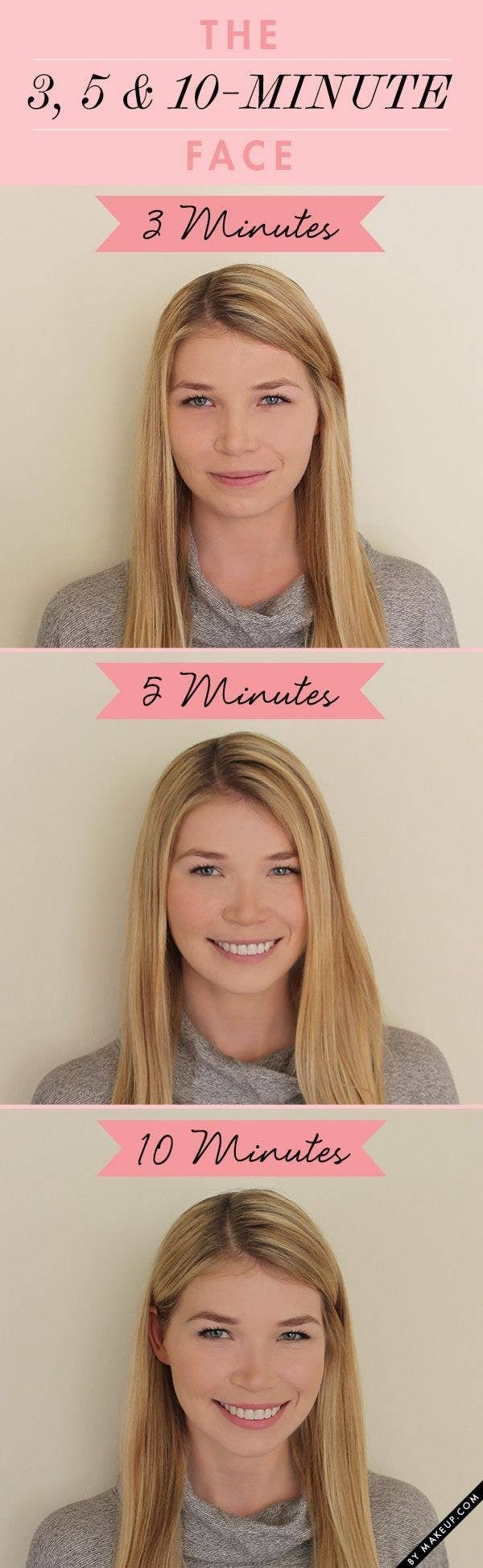 Check out these super-simple makeup routines.