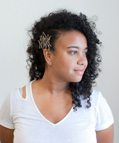 Fine 21 Bobby Pin Hairstyles You Can Do In Minutes Short Hairstyles Gunalazisus