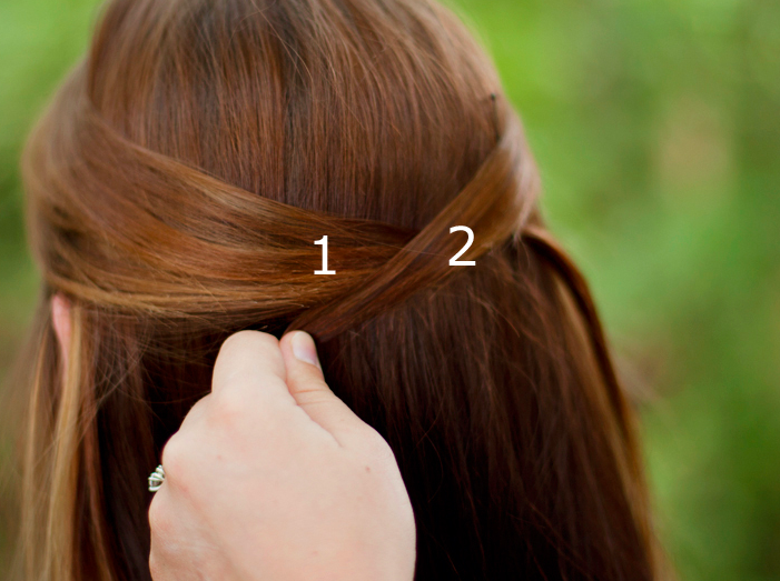 Cute Hairstyles With Just A Hair Tie