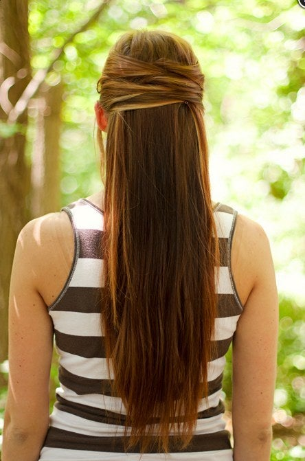 Fine 21 Bobby Pin Hairstyles You Can Do In Minutes Hairstyle Inspiration Daily Dogsangcom