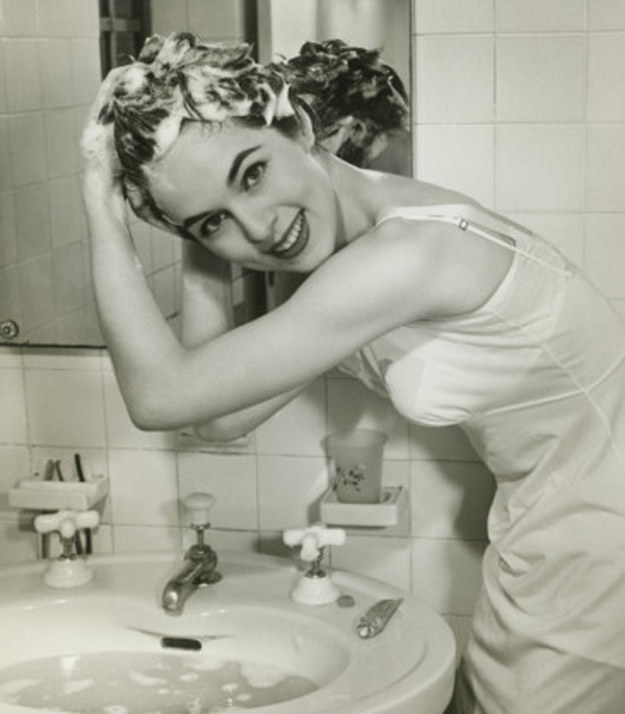 Screw showering: Just wash your roots in the sink.