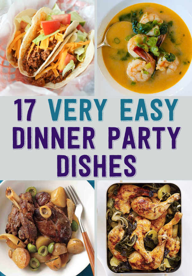 quick dinner party ideas