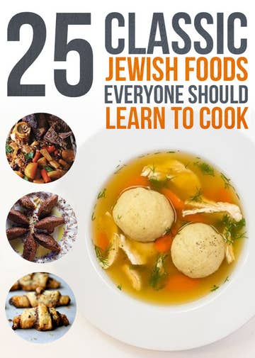10 Classic Jewish Foods Everyone Should Learn To Cook