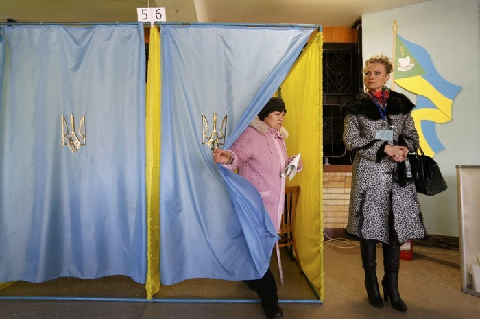 Exit polls gave pro-European parties about 75 percent of the vote — a clear turnaround from the last election in 2012, when pro-Russian parties formed a majority. Official results will not be available until midweek.