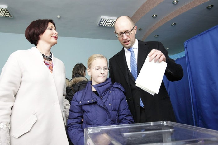 Yatsenyuk is well-liked in diplomatic and financial circles, where his continued presence is seen as key to securing the $19 billion Ukraine needs to avoid defaulting on its debt next year. A third pro-Western party, Self-Help, scored 13 percent and will most likely round out the coalition.