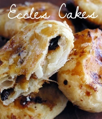 Bizarre and mouthwatering Eccles cakes.