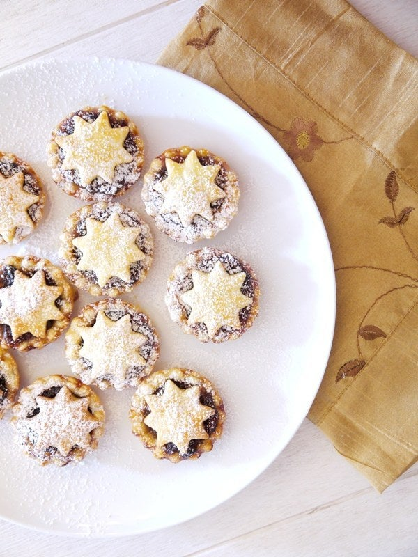 Miraculously, mincemeat (or mince) pies contain no meat -- just delicious bits of fruit and a lot of holiday spirit. Impress your English friends with these little treats. Recipe here.