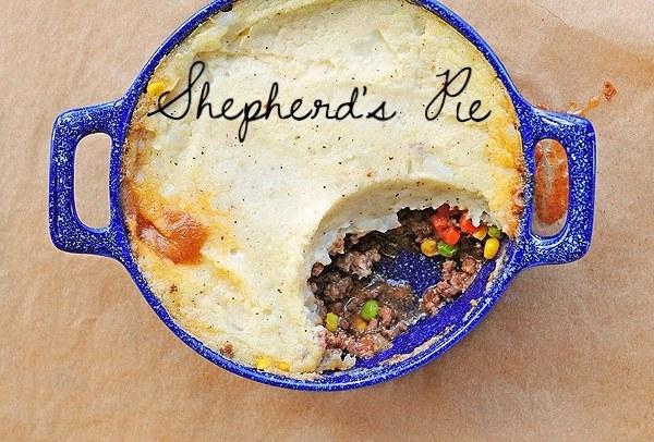 Hearty shepherd's pie.