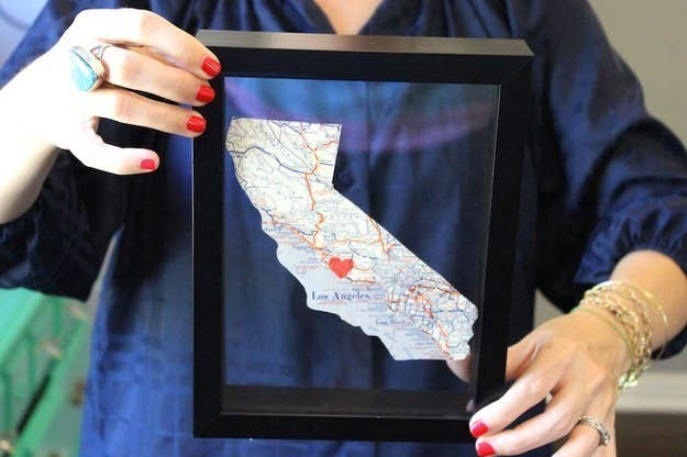 13 Home State Wall Art