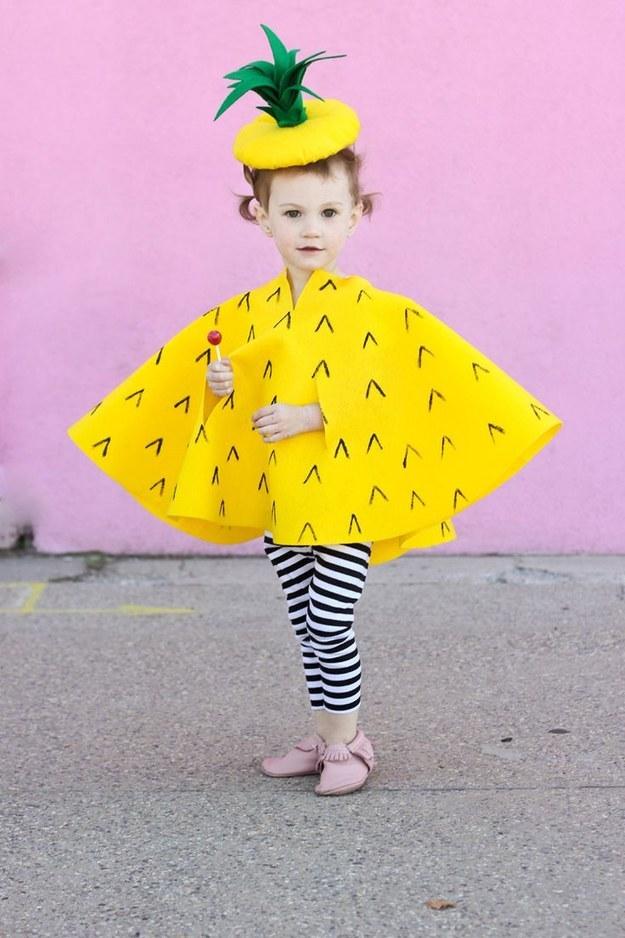No,Sew Pineapple Costume