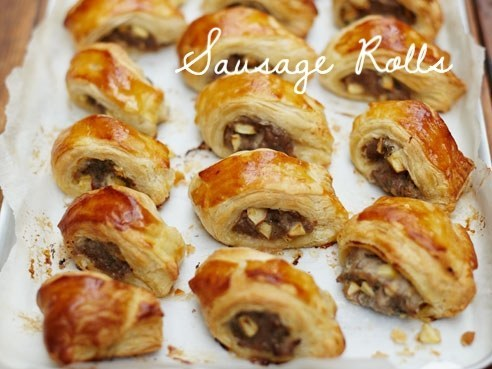 Too-good-to-be-true sausage rolls.