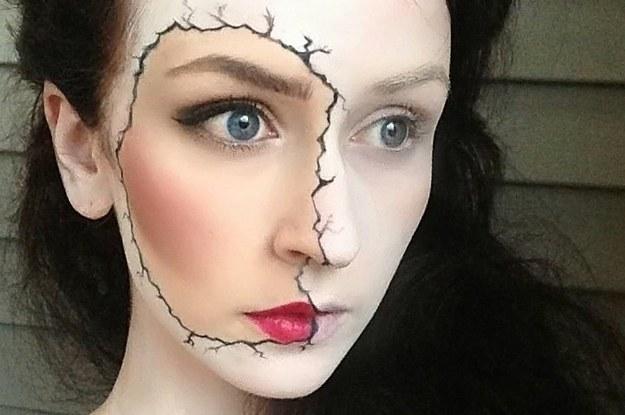33 Maquillajes Completamente Escalofriantes Para Probar