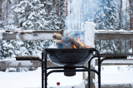 60% of grillers say they barbecue year-round.