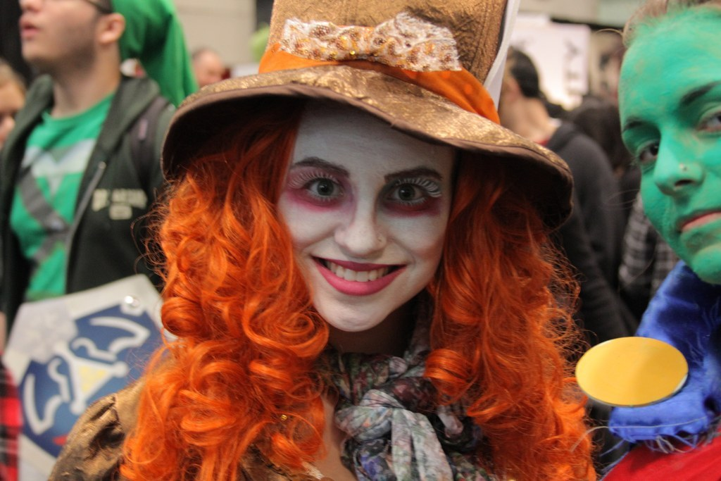 11. This maddeningly stunning Mad Hatter.