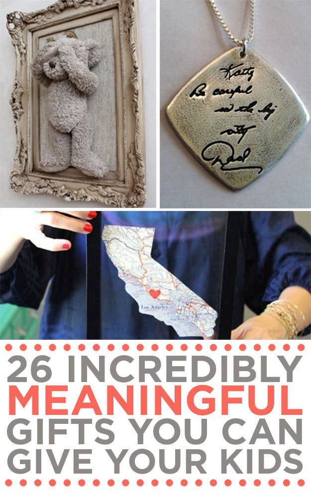 26 incredibly meaningful gifts you can give your kids share on facebook share solutioingenieria Choice Image