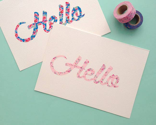 Free Birthday Stationary ~ 17 diy stationery projects that will make you want to write a letter