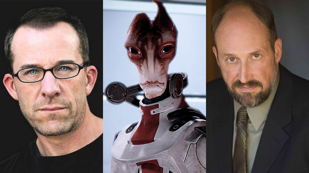 the reallife actors behind mass effect characters