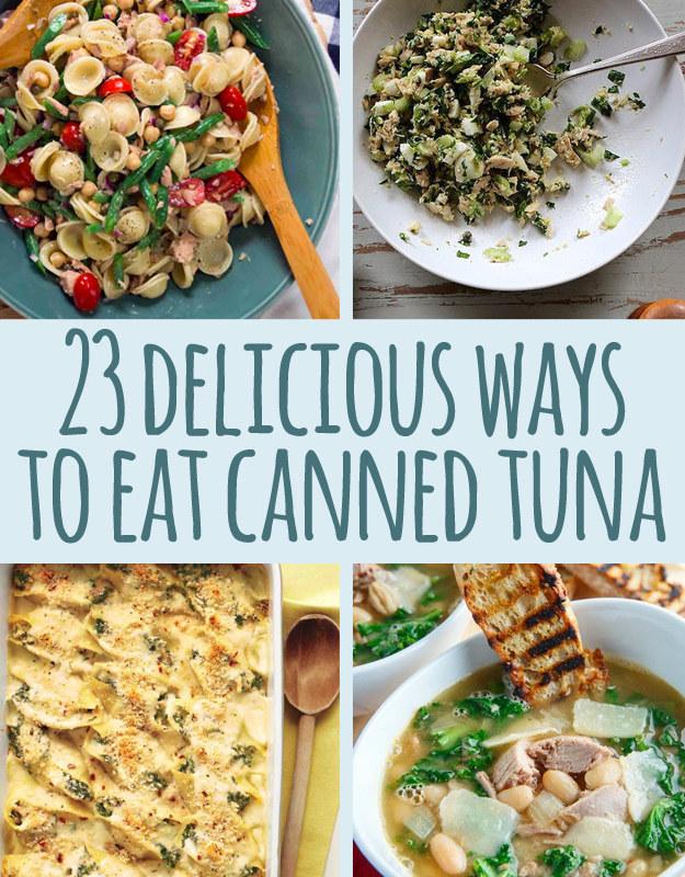 Healthy easy tuna recipes