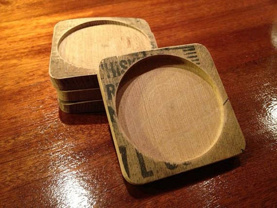 As you will know by now as a seasoned connoisseur, it is not always easy to remember where your whiskey goes when it is not in your hard. These coasters will make that struggle disappear.