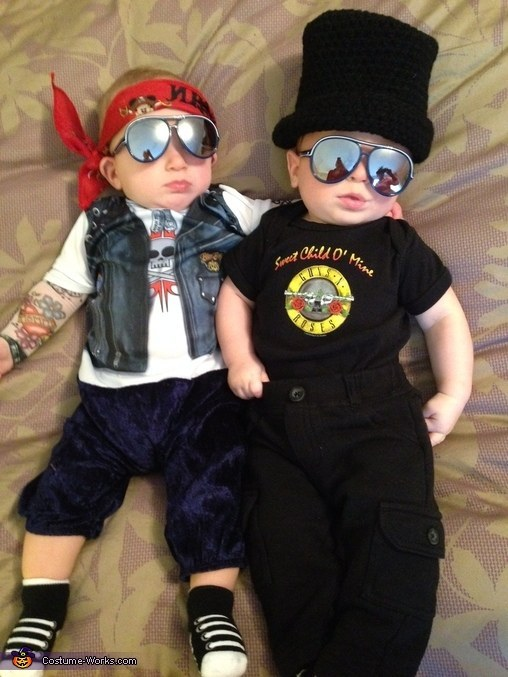 1. Guns Nu0027 Roses  sc 1 st  BuzzFeed & 24 Super Cool Halloween Costume Ideas For Kids