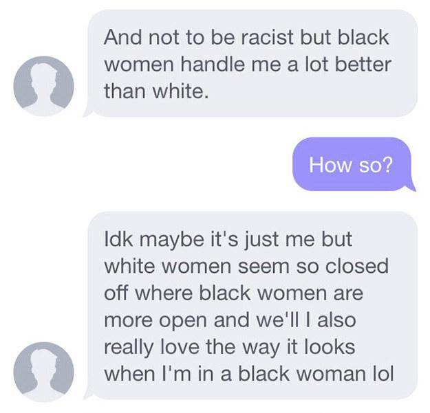 dominating men women Black
