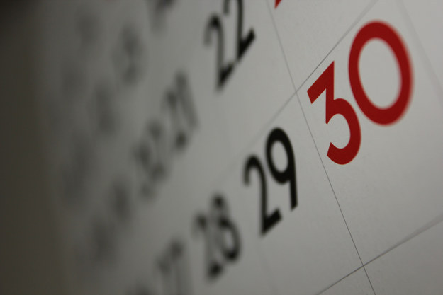 C is for Calendar