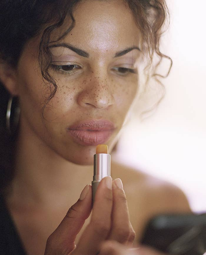 Just like the rest of your face, get that pretty pout some sunscreen using a daily SPF lip balm.