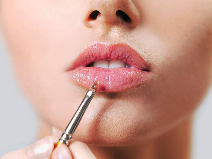 Give your lips that glossy shine without looking like you might actually be drooling.