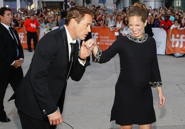 Robert Downey Jr. and Susan Downey at the gala premiere for The Judge at the Toronto International Film Festival on Sept. 4