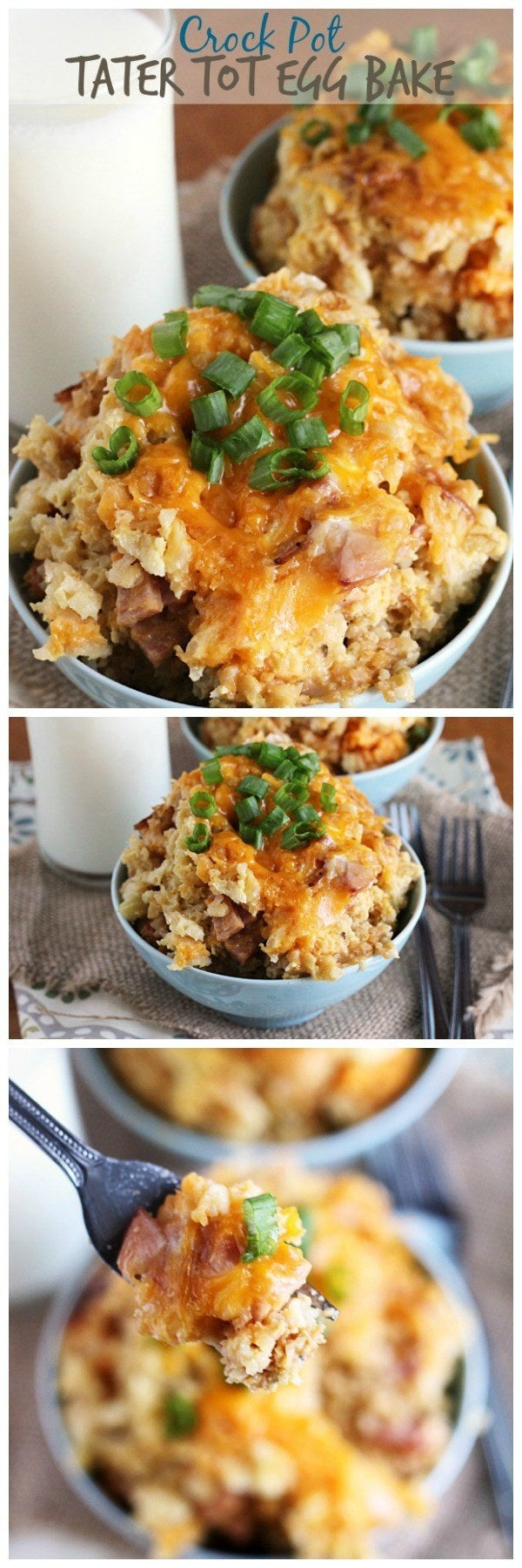 Now you can enjoy tater tots every meal of the day. Click here for recipe.