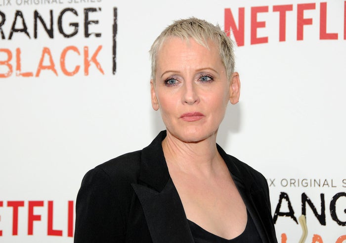 Lori Petty attends the Orange Is the New Black Season 2 premiere at Ziegfeld Theater on May 15 in New York City.