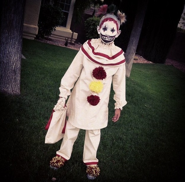 "Everyone Dressed As Twisty The Clown From ""American Horror"