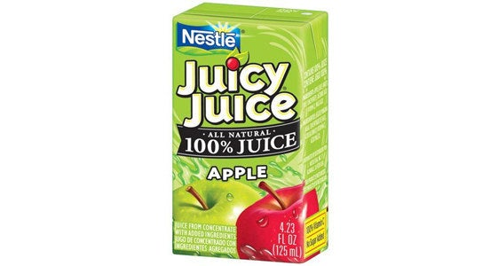 """Food banks like to have juices on hand, especially for kids, but juices with high fructose corn syrup can be harmful for kids who are struggling to get proper nutrition. Nutrition consultant Keri Gans, MS, RDN, CDN, told BuzzFeed Life, """"As long as it is 100% fruit juice it is a healthy choice,"""" so just make sure that percentage checks out before you donate."""