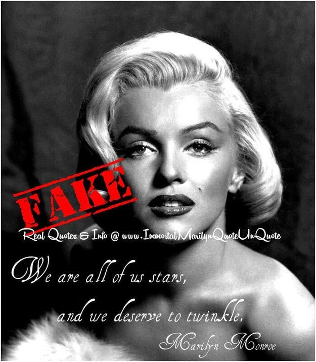Marilyn Monroe New Years Quotes: Marilyn Monroe Quotes...That She Never Actually Said