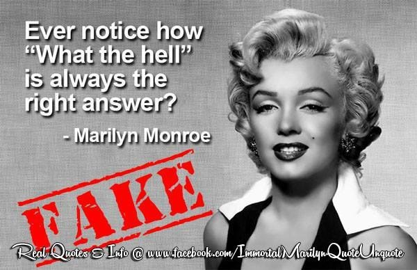 Marilyn Monroe Quotesthat She Never Actually Said-8353