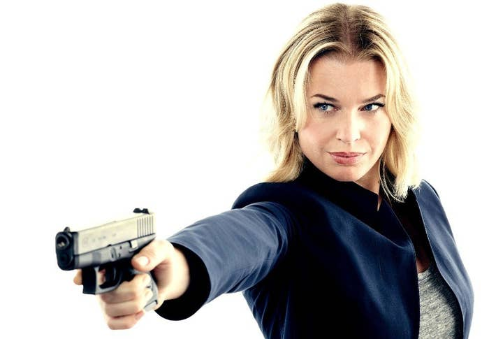 Eve Baird is a counter terrorism expert and is recruited to be Flynn Carsen's bodyguard. Talk about girl power! It's not ax-wielding Christian Kane who's the brawn in this show, it's Rebecca, and that is kickass in itself. She's the skeptic and the one in charge of these rag tag geniuses, and it's great to see.