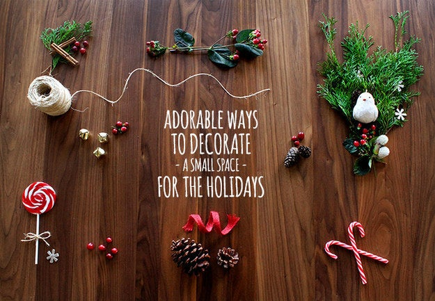 From mason jars brimming with cranberries to mittens stuffed with pine branches, this post will help you make your cozy space super festive.