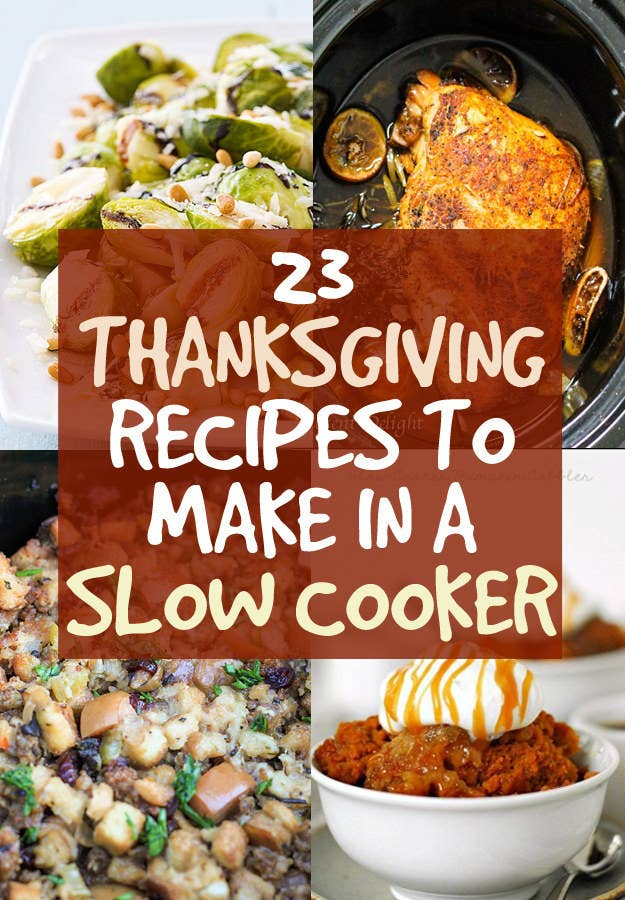 23 thanksgiving dishes you can make in a crock pot share on facebook share forumfinder Image collections