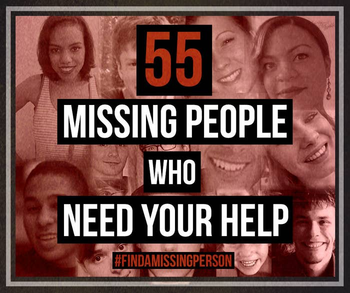 55 Missing People Who Need Your Help