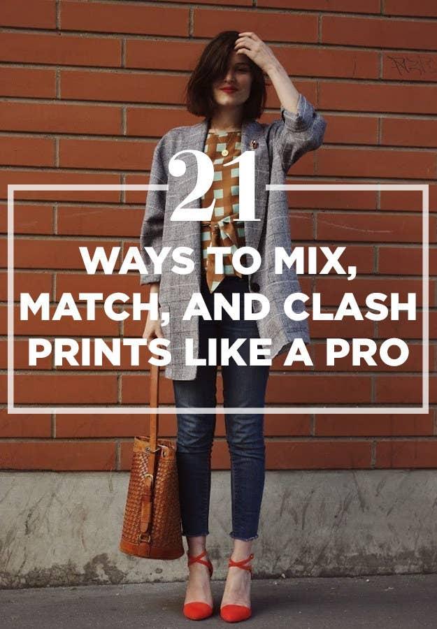 3351d115b4 21 Ways To Mix Patterns Like A Fashion Blogger