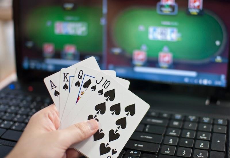 Ban on internet gambling trains and gambling